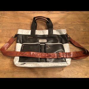 Christian Audigier LA Shoulder Messenger Bag